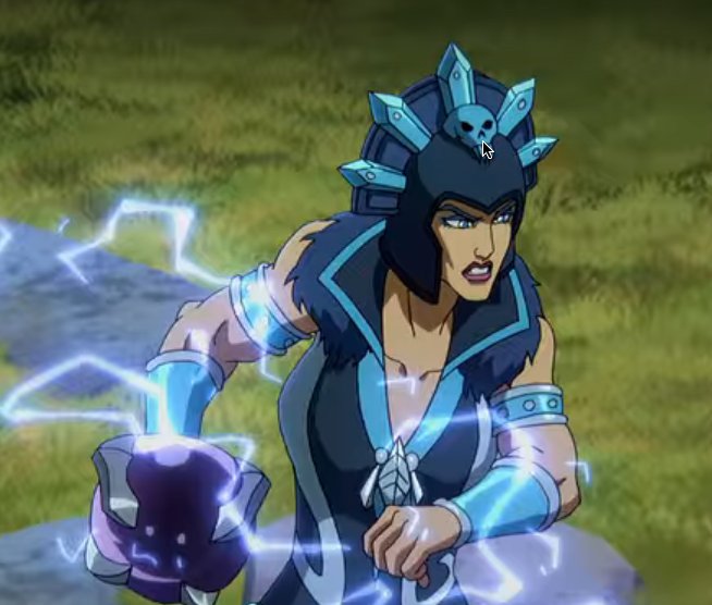 Evil-Lyn (from Masters of the Universe: Revelation)